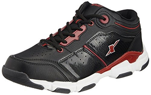 Sparx Men's Black And Red Running Shoes - 6 Uk (sm-174)