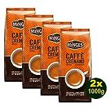Minges Caffè Cremano, 1000g Bohnen 4er Pack