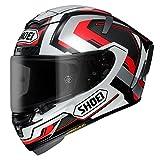 Shoei X-Spirit 3 Brink Motorcycle Helmet L Silver (TC-5)