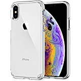 Spigen Ultra Hybrid Case Designed for iPhone X (2017) iPhone Xs (2018) - Crystal Clear