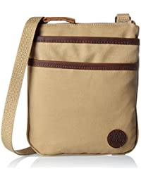 Timberland Mini Items Bag, Besaces mixte adulte, Braun (Kelp), 2x22x18 cm (B x H T)