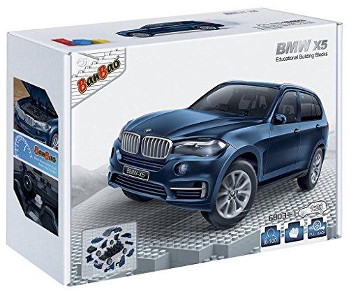 banbao-6803-1-bmw-x5-blue-costruzione-impostare-98-pezzi-1-28-toy-miniatura