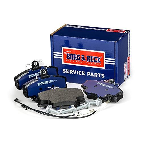 Borg & Beck BBP1386 Kit pastiglie Freno