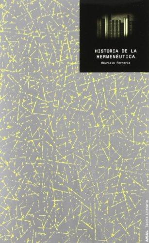 Historia de la hermenéutica (Teoría literaria)