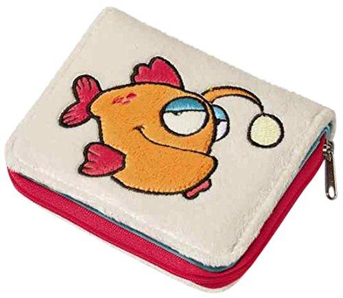 Preisvergleich Produktbild Nici 36624 - Geldbeutel Laternenfisch, Plüsch, 12 x 9.5 cm
