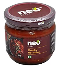 Neo Chunky Hot Salsa, 330g, Pack of 12