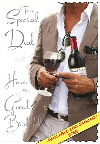 Geprägt Blazer (Geburtstagskartefür Väter, Motiv mit Blazer, geprägt, mit Folie überzogen, JJ-V509)
