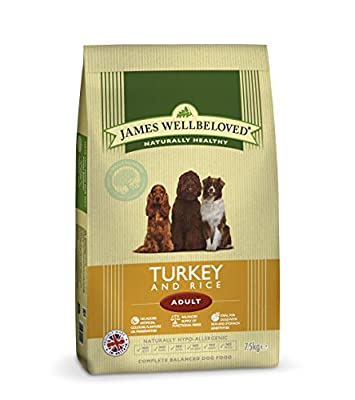 James Wellbeloved Turkey and Rice Adult Dry Dog Food