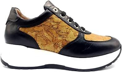 ALVIERO MARTINI - Scarpa cuoio geo beige #x014 0725/0030