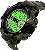 Hala Fashion Abx1017-Gents Green Solitary Affrican Army Pattern Watch - for Men