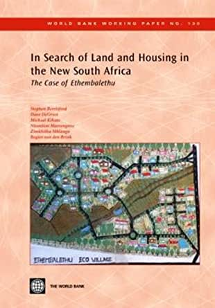 the case of land reforms in south africa economics essay Land rights in ethiopia: ownership, equity,  land rights in ethiopia: ownership, equity, and liberty in land use  in any case, the land remained under imperial.