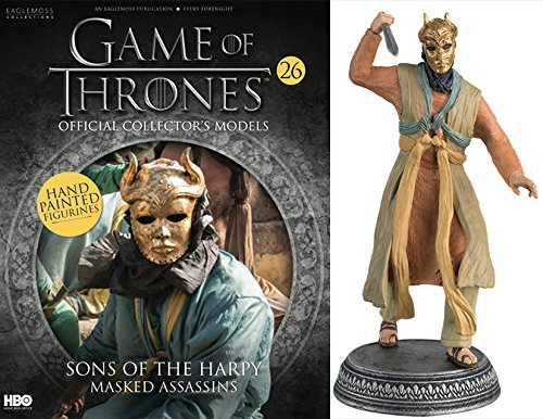 Statue des Harzes. Game of Thrones Collection Nº 26 SONS OF THE HARPY