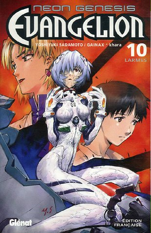 Evangelion - Neon genesis Vol.10 par SADAMOTO Yoshiyuki