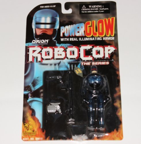 Original RoboCop Power Glow with illuminating armor by Orion pictures corporation