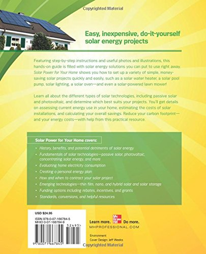 Solar Power for Your Home (Green Guru Guides)
