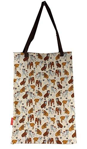 Selina-Jayne Bulldog Limitierte Auflage Designer Baumwolltasche (Tote Bag) Bulldog-handy-fall