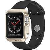 Spigen Slim Armor Case for Apple Watch (42mm) (SERIES 3 / SERIES 2 / SERIES 1 ) Case/cover (APPLE WATCH NOT INCLUDED)(BIGGER VERSION) - Gold SGP11506