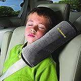 CYBERNOVA Siège enfant Kid véhicules de ceinture harnais d'épaule Pad Support couverture Coussin de tête (gris)