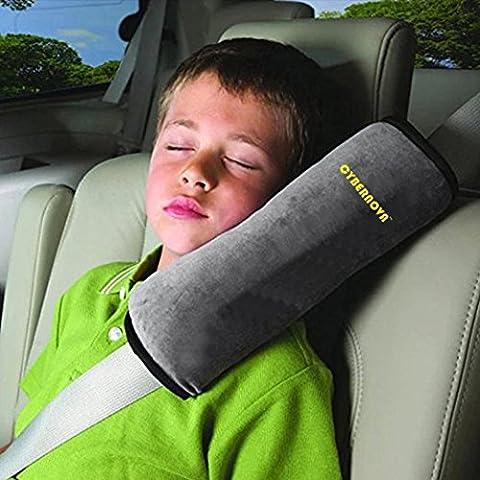 CYBERNOVA Siège enfant Kid véhicules de ceinture harnais d'épaule Pad Support couverture Coussin de tête