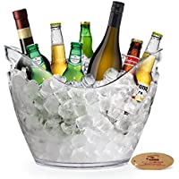 Yobansa® 8L Seau à glace Seau à champagne Seau à vin, cuisine, fruits et légumes de conservation