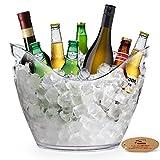 Yobansa 8L Seau à glace Seau à champagne Seau à vin, cuisine, fruits et légumes de conservation