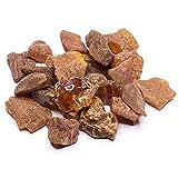 Raw Stones von Bernstein Kultur | Größe 0,03–0,09Unze, baltischer Bernstein Harz, echtem und natürlichem Riegel Unze, zufällige Viel NTS50