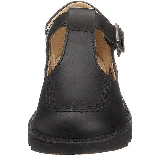 Kickers , Chaussures classiques formelles fille Noir (black/pink/black)