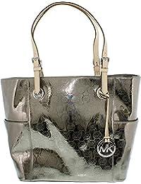 Michael Kors Handbag, Signature Patente East West Tote níquel