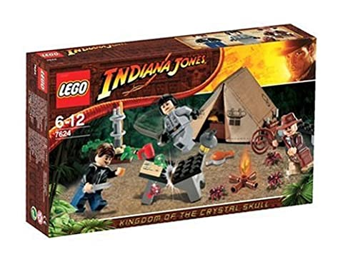 LEGO - 7624 - IndianaJones - Jeux de construction - Duel dans la jungle