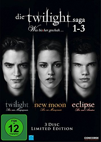 Die Twilight Saga 1-3 - Was bis(s)her geschah... [Limited Edition] [3 DVDs] (Filme Dvd Twilight)