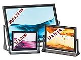 infactory Harmonisches Sandbild: Sandbilder 3er-Pack: Eldorado, Blue Ocean & Dream Pink (Schüttel-Sand-Bilder)