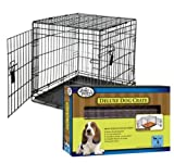 Best Four Paws Dog Crates - Four Paws Small Double Door Deluxe Dog Crate Review