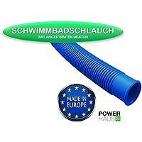 "PowerHaus24® – Manguera para piscinas y estanques – 32 mm de diámetro (5/4"") – Longitud: 6,60 m"