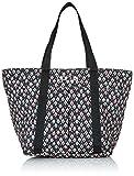 Rip Curl Damen Schultertasche Oosta Shopping Bag, Black, 20 x 15 x 4 cm, 1 Liter, LSBCS4-90