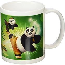 Kung Fu Panda 3Kick–Taza de cerámica, multicolor