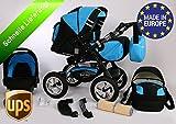 3 in 1 Kombikinderwagen Komplettset VIP - inkl. Kinderwagen,...