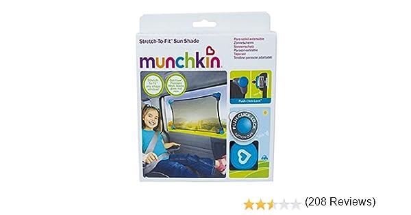 Nero Munchkin 012353 Tendina Parasole Adattabile per Auto