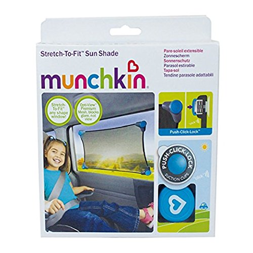 Munchkin Stretch To Fit - Parasol elástico adaptable coche