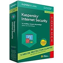 Kaspersky Internet Security 2018 | 1 Poste | 3 Ans | Edition spéciale |PC/Mac/Android/iOS | Téléchargement