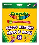 Crayola - 03.3624 - Loisir Créatif - 24 Crayons De Couleur