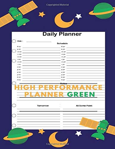 High Performance Planner Green: Freedom Mastery Daily Planner