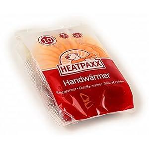 HeatPaxx Handwärmer – Handliche Taschenwärmer für unterwegs – endlich wieder warme Hände – 10 x 2 Heizkissen im praktischen Vorteilspack