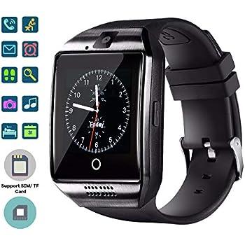 TagoBee El Reloj Inteligente Bluetooth TB02 con Tarjeta SIM es Compatible con Whatsapp Notificación Compatible con Todos los teléfonos Android y iOS ...