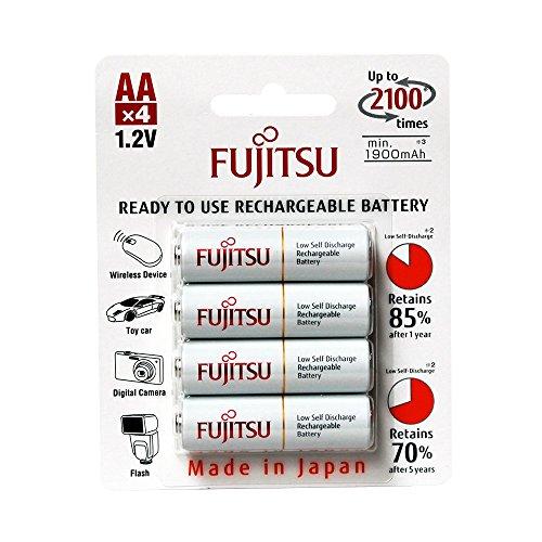 Fujitsu Wiederaufladbare Akku (4x AA) weiß Test