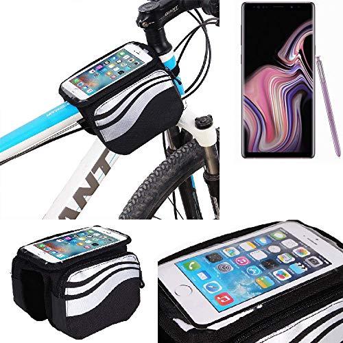 K-S-Trade Bolso Bolsa Funda Bicicleta para Samsung Galaxy Note 9, Teléfono Móvil Funda Móvil Soporte...