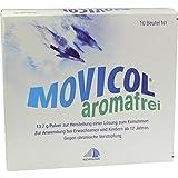 &nbsp;</strong>Der enthaltene Wirkstoff <strong>Macrogol trägt dazu bei, dass der aufgeweichte Stuhl besser transportiert werden kann. </strong><br><strong>Movicol Pulver aromafrei, 10 St.</strong><strong>