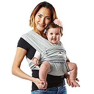 Baby K'Tan Cotton Baby Carrier Heather (X-Small, Grey)   3
