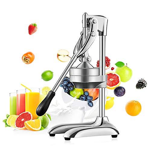 Handpresse aus Edelstahl, Zitruspresse, Zitrone, Orange, Granatapfel, Obst, Saft, Extraktor oder Küche