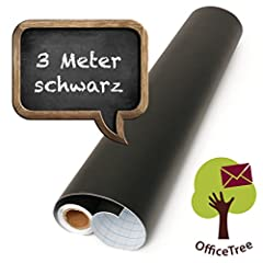 OfficeTree schwarz 300 cm Rolle