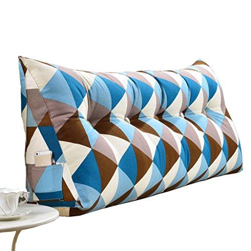 lhl-Standard, imbottitura per cuscino triangolare, grande, per letto matrimoniale, adatto anche per gli schienali, per i divani e per i cuscini per la spina dorsale, c, Small